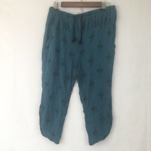 Free People Pull-on Cropped Pants Sz XS